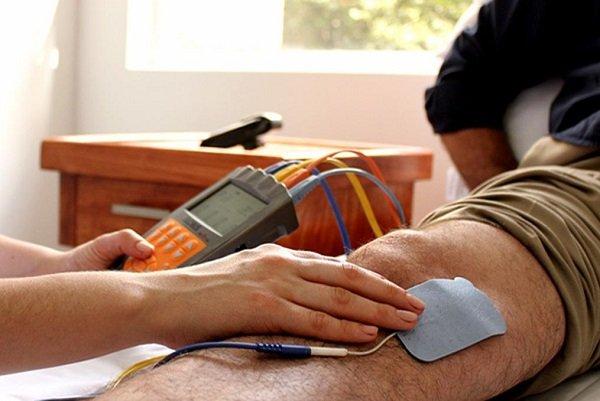 Tratamiento de estimulacion muscular electrica